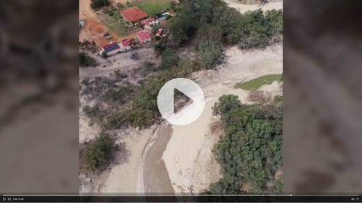 Video of Menindee Lakes flows
