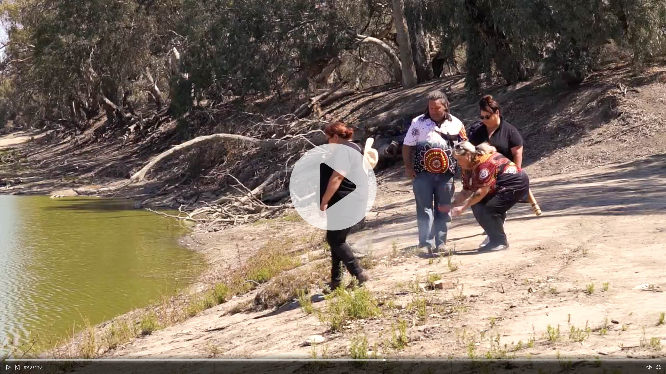 Image of tile to click into video of Menindee Lakes Project and Barkindji people