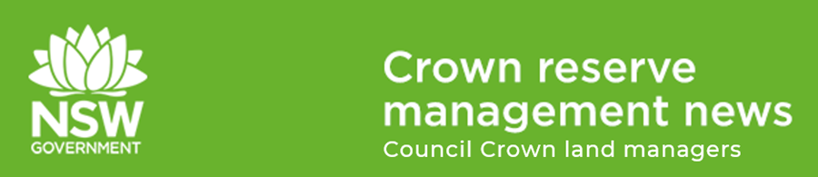 Council crown land managers newsletter header