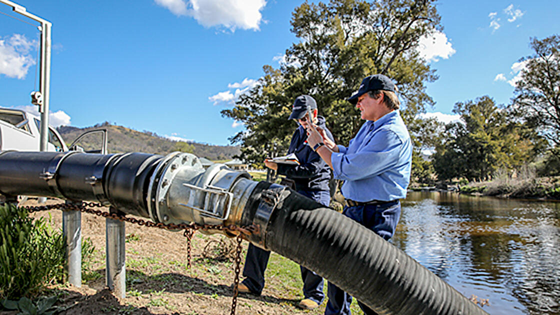 NRAR routine monitoring pilot program